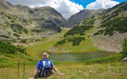 Pirin Mountains Hiker
