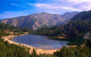 Lake in Pirin Mountains